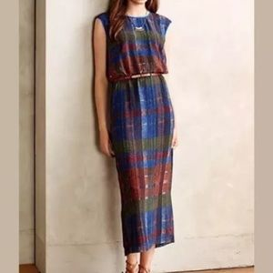 HD in Paris Andaz Maxi Dress in Blue Motif